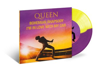 "<b>Queen </b><br><i>Bohemian Rhapsody / I'm In Love With My Car [7""]</i>"