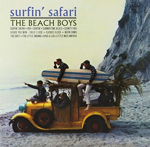 <b>The Beach Boys </b><br><i>Surfin' Safari</i>