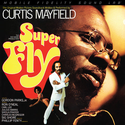 <b>Curtis Mayfield </b><br><i>Super Fly (The Original Motion Picture Soundtrack) [2LP, 45 RPM]</i>
