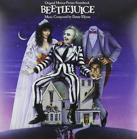 <b>Danny Elfman </b><br><i>Beetlejuice (Original Motion Picture Soundtrack)</i>