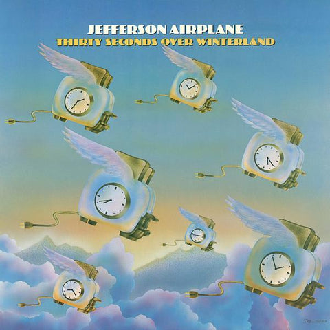 <b>Jefferson Airplane </b><br><i>Thirty Seconds Over Winterland [180-gram Sky Blue Vinyl] [Rhino Summer Of 69 Exclusive]</i>