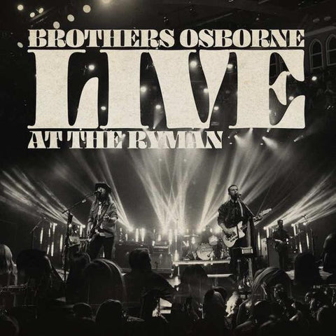 <b>Brothers Osborne </b><br><i>Live At The Ryman</i>
