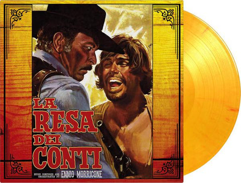 <b>Ennio Morricone </b><br><i>La Resa Del Conti (The Big Gundown) (Original Soundtrack) [Import] [Colored Vinyl]</i>