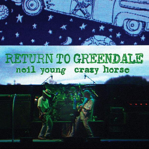 <b>Neil Young & Crazy Horse </b><br><i>Return To Greendale [Deluxe Edition, 2-lp, 2-CD, 1 Blu-Ray, 1 DVD]</i>
