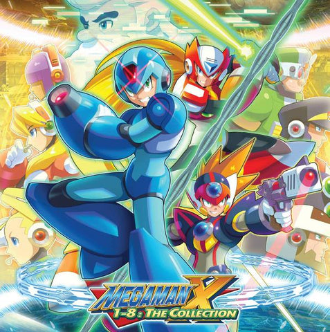<b>Capcom Sound Team </b><br><i>Mega Man X 1-8: The Collection [8-lp Box Set]</i>