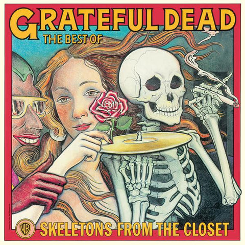 <b>Grateful Dead </b><br><i>The Best Of The Grateful Dead: Skeletons From The Closet [White Vinyl] [SYEOR 2019 Exclusive]</i>