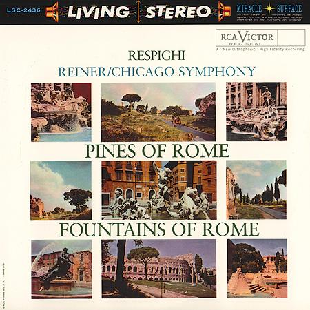 <b>Respighi / Renier </b><br><i>Pines Of Rome / Fountains Of Rome [2LP, 45 RPM]</i>