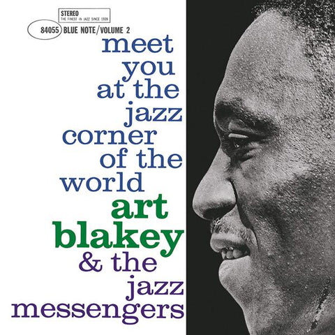 <b>Art Blakey & The Jazz Messengers </b><br><i>Meet You At The Jazz Corner Of The World - Vol 1 [Blue Note 80th Anniversary Series]</i>