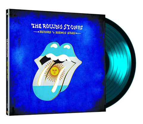 <b>The Rolling Stones </b><br><i>Bridges To Buenos Aires [3 LP] [Blue Vinyl]</i>