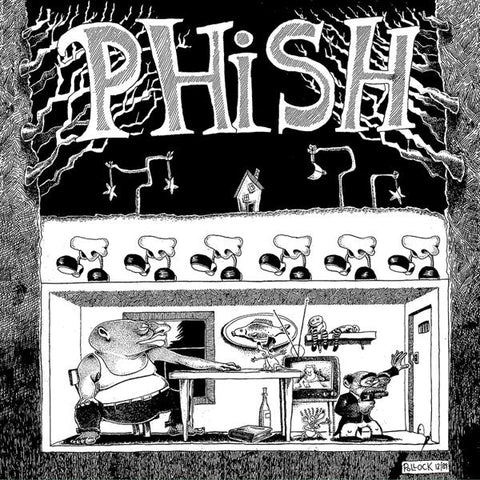 <b>Phish </b><br><i>Junta [3-lp, Black & White Splatter Vinyl]</i>
