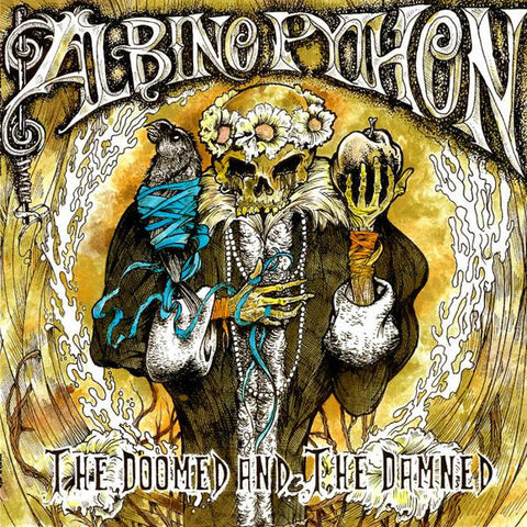 <b>Albino Python </b><br><i>The Doomed And The Damned</i>