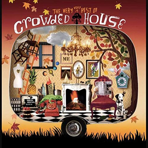 <b>Crowded House </b><br><i>The Very Very Best Of Crowded House [Orange Vinyl]</i>