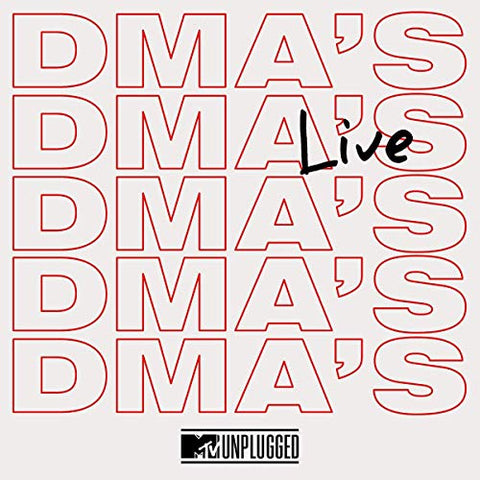 <b>Dma's </b><br><i>MTV Unplugged Live</i>