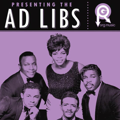 <b>The Ad Libs </b><br><i>Presenting The Ad Libs</i>