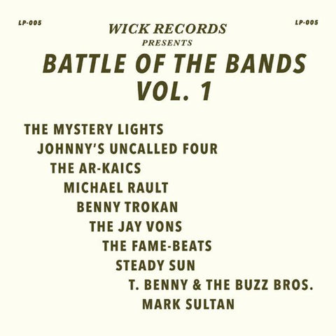 <b>Various </b><br><i>Wick Records Presents - Battle Of The Bands Vol. 1 [Swirl Vinyl]</i>