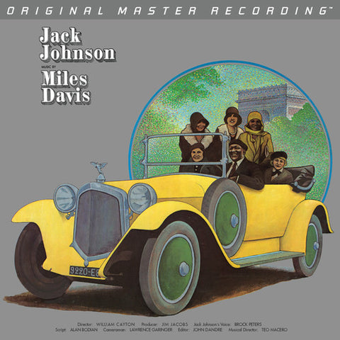 <b>Miles Davis </b><br><i>Jack Johnson - Original Soundtrack Recording</i>