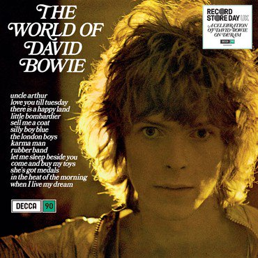<b>David Bowie </b><br><i>The World Of David Bowie</i>