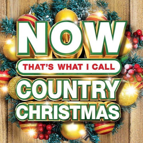 <b>Various </b><br><i>Now That's What I Call Country Christmas [Red Vinyl]</i>