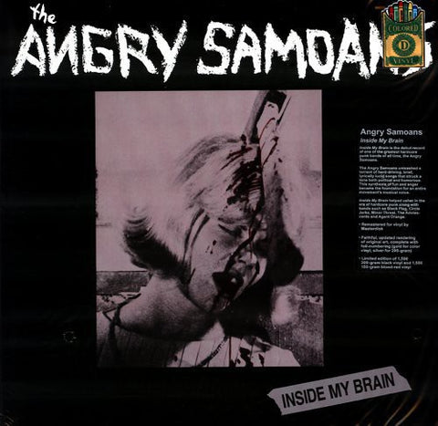 <b>The Angry Samoans </b><br><i>Inside My Brain</i>