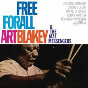 <b>Art Blakey & The Jazz Messengers </b><br><i>Free For All</i>