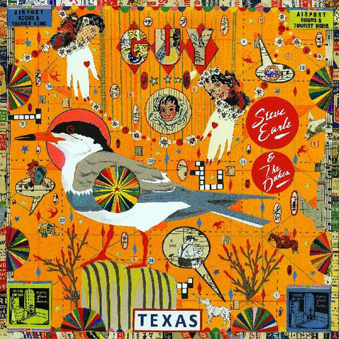 <b>Steve Earle & The Dukes </b><br><i>Guy [Indie-Exclusive Royal Blue Vinyl]</i>