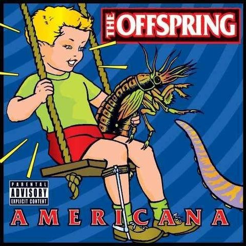 <b>The Offspring </b><br><i>Americana [Lenticular Cover, Red Vinyl]</i>