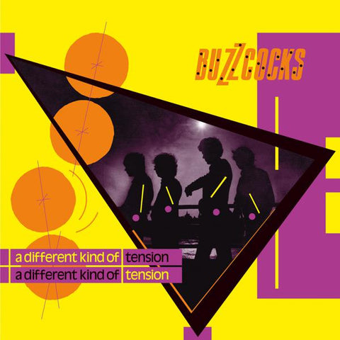 <b>Buzzcocks </b><br><i>A Different Kind Of Tension [Yellow Vinyl]</i>