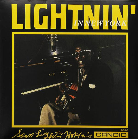 <b>Sam Lightnin' Hopkins </b><br><i>Lightnin' In New York</i>