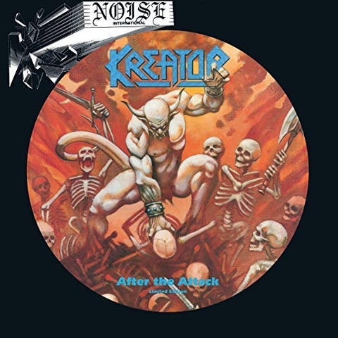 <b>Kreator </b><br><i>After The Attack [Picture Disc] [ROCKtober 2018 Exclusive]</i>