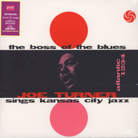 <b>Joe Turner </b><br><i>The Boss Of The Blues Sings Kansas City Jazz</i>