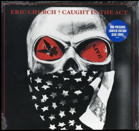 <b>Eric Church </b><br><i>Caught In The Act [Blue Vinyl]</i>
