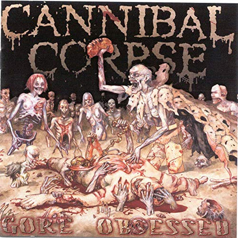 <b>Cannibal Corpse </b><br><i>Gore Obsessed [Red / Black Marbled Vinyl]</i>