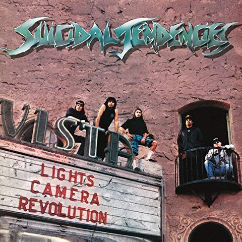 <b>Suicidal Tendencies </b><br><i>Lights... Camera... Revolution [Transparent Green Vinyl]</i>