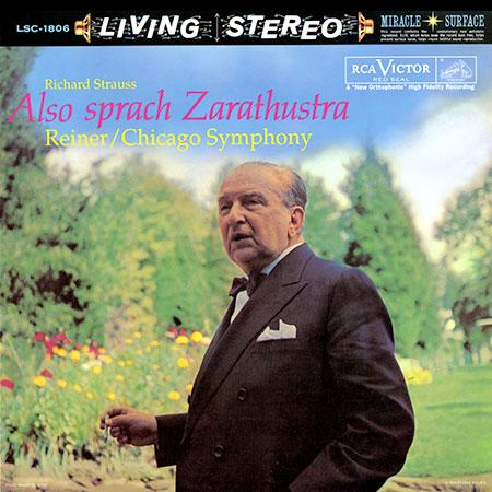 <b>Fritz Reiner </b><br><i>Richard Strauss: Also Sprach Zarathustra</i>