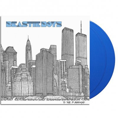 <b>Beastie Boys </b><br><i>To The 5 Boroughs [2 LP] [Indie-Exclusive Blue Vinyl]</i>