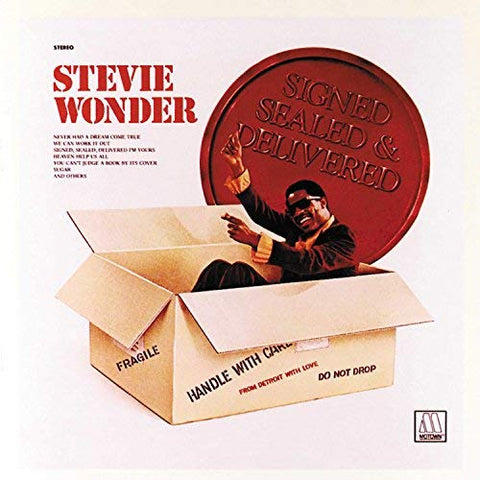 <b>Stevie Wonder </b><br><i>Signed Sealed & Delivered</i>