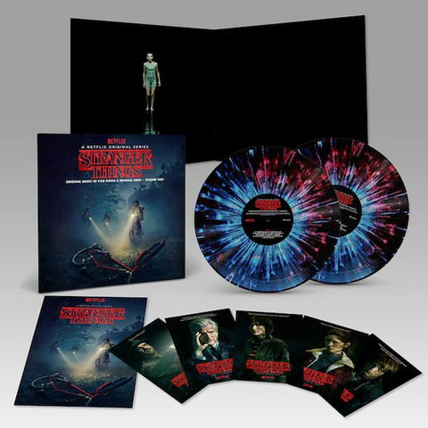 <b>Kyle Dixon & Michael Stein </b><br><i>Stranger Things Deluxe Edition Vinyl Vol 2 </i><br>Release Date : 07/14/2017
