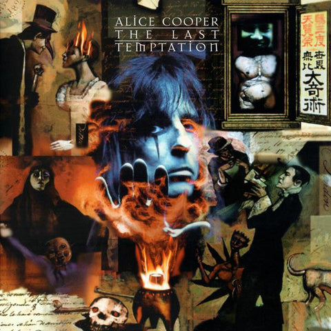 <b>Alice Cooper </b><br><i>The Last Temptation [Blue Vinyl]</i>