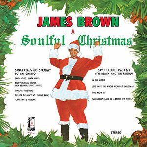 <b>James Brown </b><br><i>A Soulful Christmas</i>