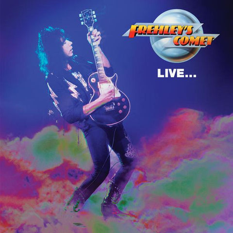<b>Ace Frehley </b><br><i>Frehley's Comet Live</i>