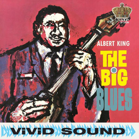<b>Albert King </b><br><i>The Big Blues [Red Vinyl]</i>