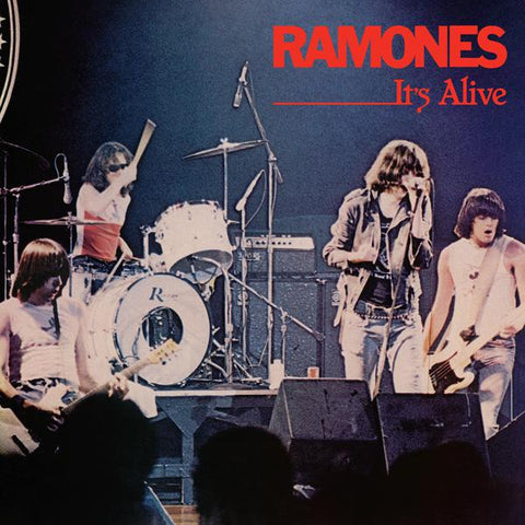 <b>Ramones </b><br><i>It's Alive (Live) [Start Your Ear Off Right 2020] [Red/Blue Vinyl]</i>
