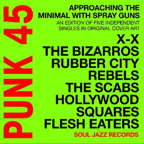 "<b>Soul Jazz Records Presents </b><br><i>Punk 45 - Approaching The Minimal With Spray Guns: An Edition Of Independent Singles In Original Cover Art [7"" Box Set]</i>"