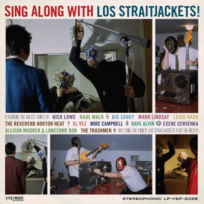 <b>Los Straitjackets </b><br><i>Sing Along With Los Straitjackets</i>