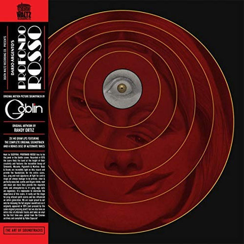 <b>Goblin </b><br><i>Profondo Rosso - Original Motion Picture Soundtrack [Orange Vinyl]</i>
