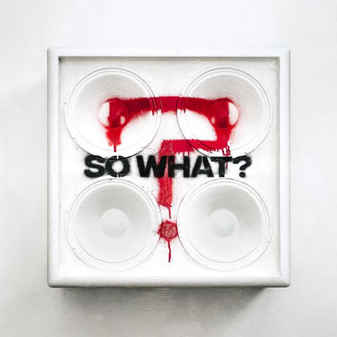 <b>While She Sleeps </b><br><i>SO WHAT? [Red Marbled Vinyl]</i>
