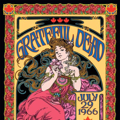 <b>Grateful Dead </b><br><i>P.N.E. Garden Auditorium, Vancouver, British Columbia, Canada 7/29/66</i>