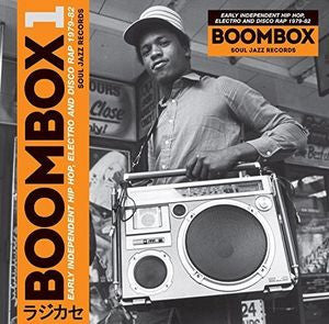 <b>Various </b><br><i>Boombox 1 - (Early Independent Hip Hop, Electro And Disco Rap 1979 - 82)</i>