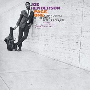 <b>Joe Henderson </b><br><i>Page One</i>