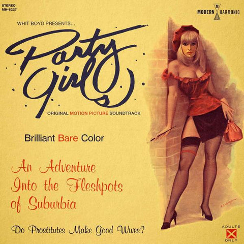 <b>Whit Boyd Combo </b><br><i>Party Girls (Original Motion Picture Soundtrack) [Gold Vinyl]</i>